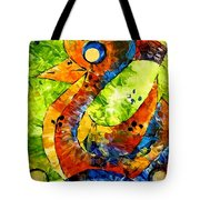 Abstraction 3198 Tote Bag