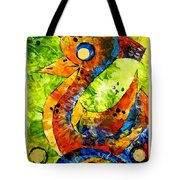 Abstraction 3200 Tote Bag