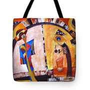 Abstraction 3217 Tote Bag
