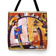 Abstraction 3219 Tote Bag