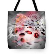 Abstraction 3304 Tote Bag