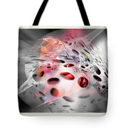 Abstraction 3307 Tote Bag
