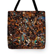 Abstraction 3374 Tote Bag