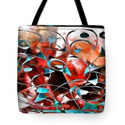 Abstraction 3422 Tote Bag