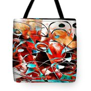 Abstraction 3423 Tote Bag