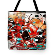 Abstraction 3424 Tote Bag