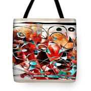 Abstraction 3426 Tote Bag