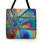 Abstraction In Color 2 Tote Bag