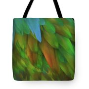 Abstractions From Nature - Pigeon Feathers Tote Bag