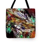 Abstracto En Dimension Tote Bag