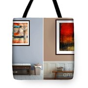 Abstracts By Edward M. Fielding Tote Bag