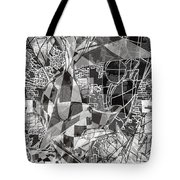 pERMEABLE aBSTRACTION  Tote Bag
