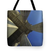 Abstrat View Of Columns At Lincoln Tote Bag