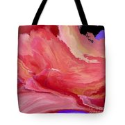 Abstrct In Pink  Tote Bag