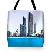 Abu Dhabi Corniche Tote Bag