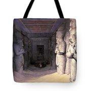 Abu Simbel Temple, 1838 Tote Bag