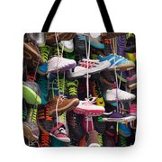 Abundance Of Shoes Tote Bag