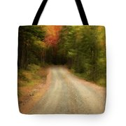 Acadia Backroads Tote Bag