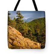 Acadian Mountains Tote Bag