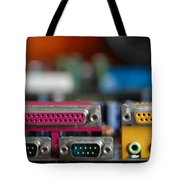Access To The Cyber Dimension Tote Bag