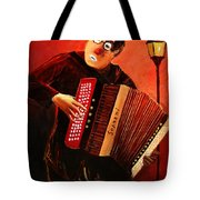 Accordeon Tote Bag