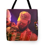 Accordion Player Tote Bag