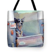 Acd Delivery Boy Tote Bag