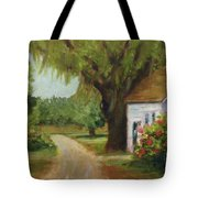 Ace Basin Cottage Tote Bag