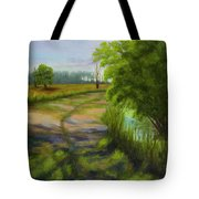 Ace Basin Pathway Tote Bag