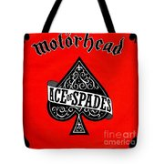 Ace Of Spades Tote Bag