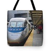 Acela Train 14bos072 Tote Bag