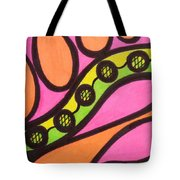 Aceo Abstract Design Tote Bag