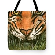 Aceo Tiger Tote Bag