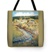 Acequia Del Llano Tote Bag