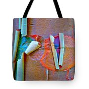 Acer Griseum Abstract Bark Tote Bag