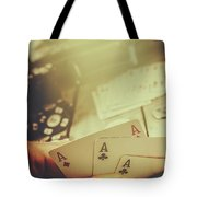 Aces Up The Sleeve Tote Bag