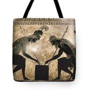 Achilles & Ajax, C540 B.c Tote Bag