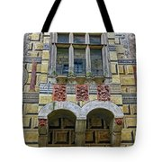 Achitecture Of The Little Castle Within Cesky Krumlov In The Czech Republic Tote Bag