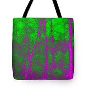 Acid Forest Tote Bag