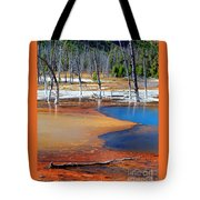 Acid Soup Yellowstone Tote Bag