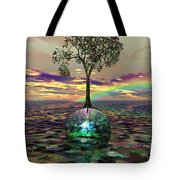 Acid Tree Tote Bag