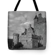 Ackergill Tower 1119 Bw Tote Bag