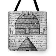 Acolapissa Temple & Cabin Tote Bag