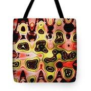 Acorn And Manzanita Display Abstract Tote Bag