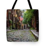 Acorn St. Boston Ma. Tote Bag