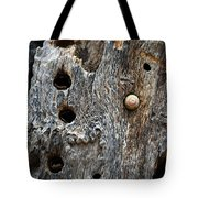 Acorn Woodpecker Cache, Sequoia National Park, Ca  September 2016 Tote Bag
