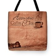 Acoustic Coffee And Tea - 1c2b Tote Bag