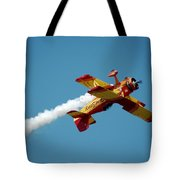 Acrobat Blue Tote Bag