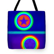 Acrobats Blue Tote Bag