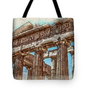 Acropolis I Tote Bag